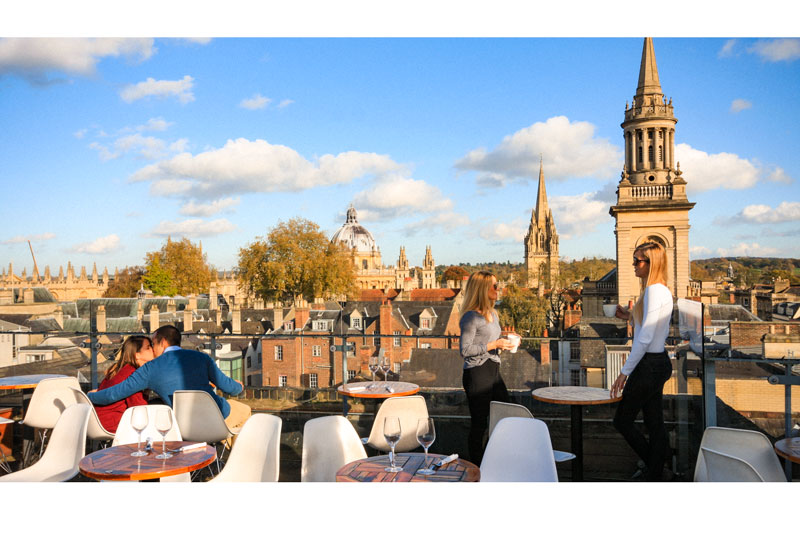 The Varsity Club Oxford S Roof Top Bar And Restaurant